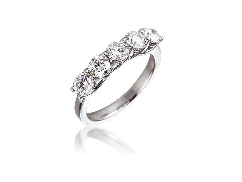 18ct White Gold Eternity Ring with 1.50ct Diamonds.