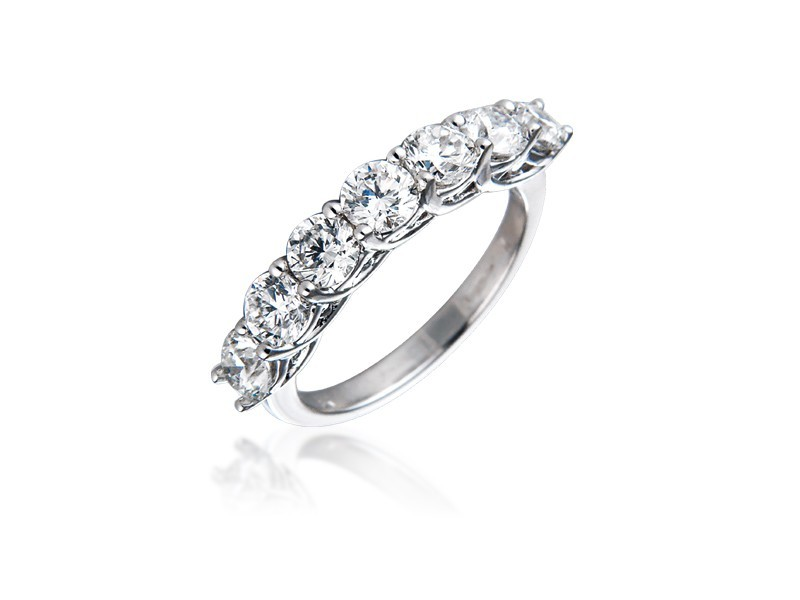 18ct White Gold Eternity Ring with 2.00ct Diamonds.