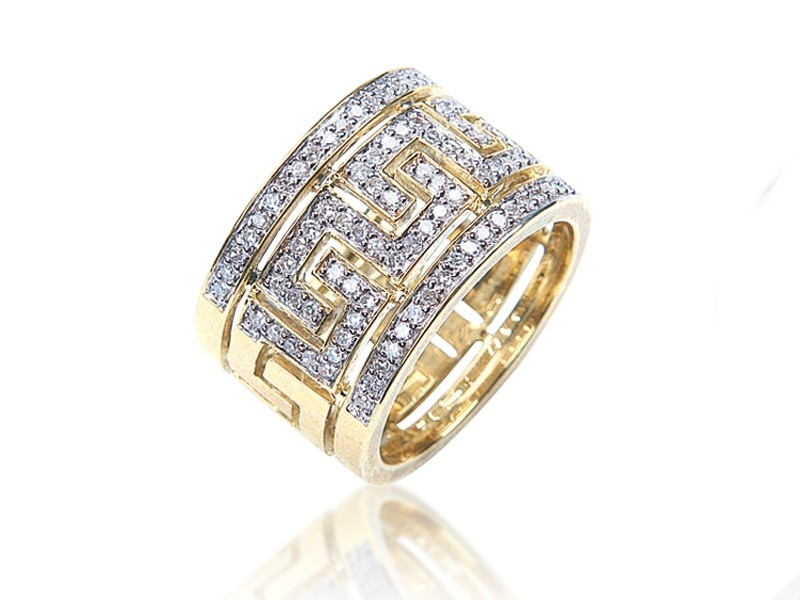 9ct Yellow Gold & 0.50ct Diamonds Wedding Ring
