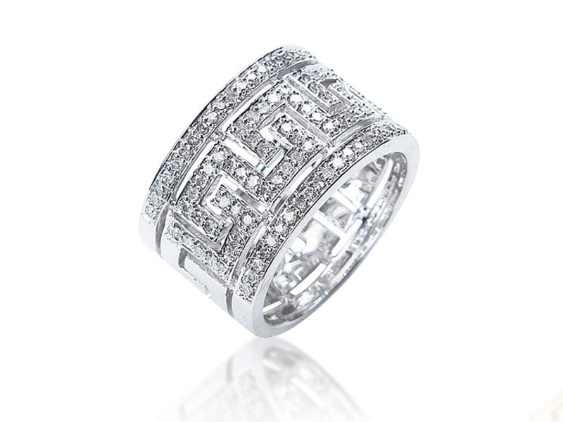 9ct White Gold & 0.30ct Diamonds Wedding Ring