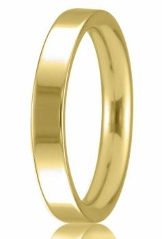 9ct Yellow Gold 3mm Easy Fit Wedding Band 2.8gms