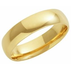 9ct Yellow Gold 5mm Court Wedding Band 7.5gms