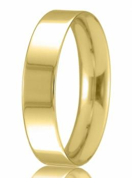 9ct Yellow Gold 5mm Easy Fit Wedding Band 5.2gms