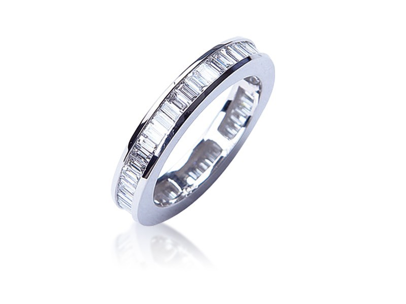 Platinum Eternity Ring with 2.00ct Diamonds.