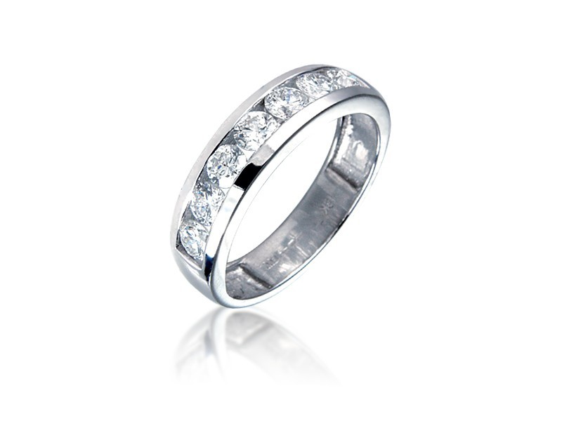 Platinum Eternity Ring with 1.00ct Diamonds.