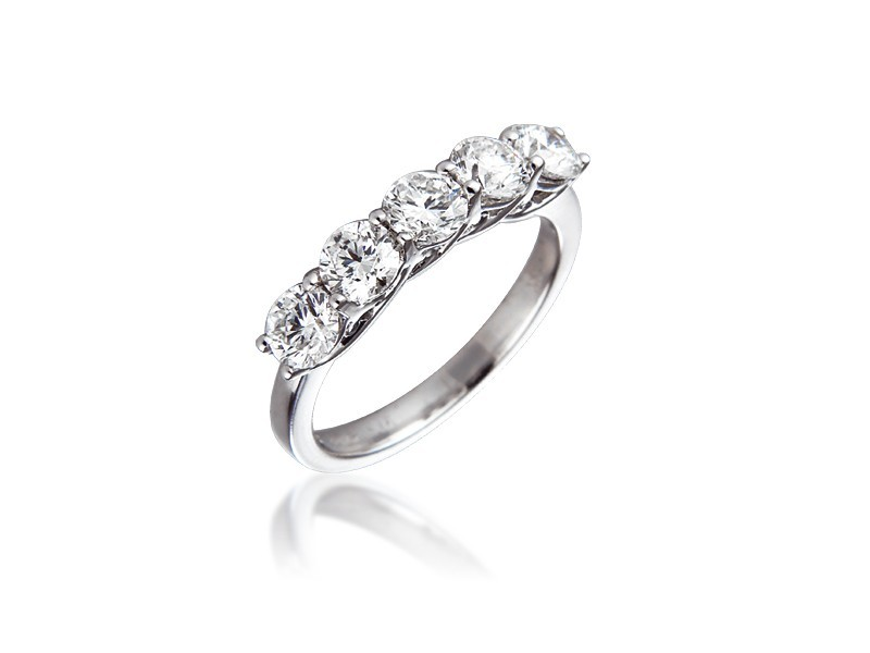 Platinum Eternity Ring with 1.50ct Diamonds.