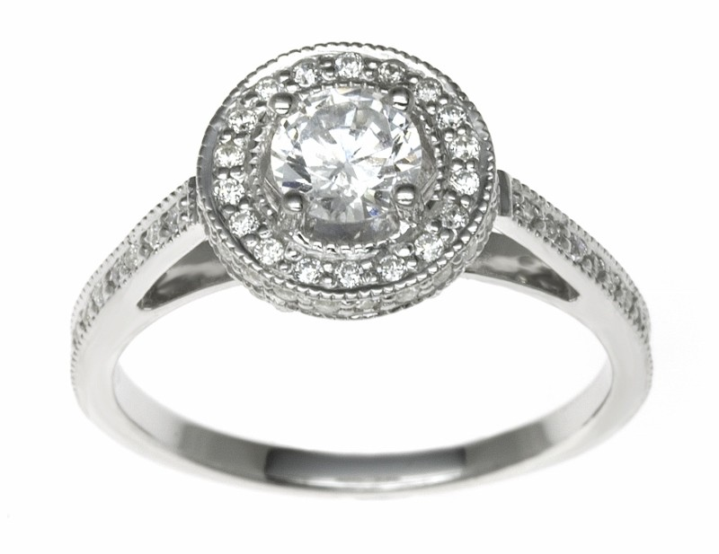 Platinum 1.42ct Diamonds Solitaire Engagement Ring